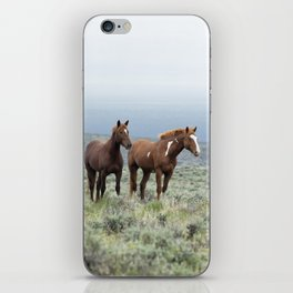 Wild Horses - Steens No. 1 iPhone Skin