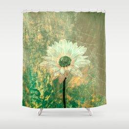 Abstract Daisy Shower Curtain