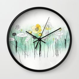 Watercress Pond Wall Clock