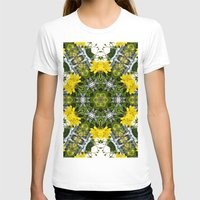 marc johns T-shirts featuring Kaleidoscope of showy St Johns Wort  by Wendy Townrow