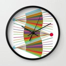 Abstract Lines Atr Design Wall Clock