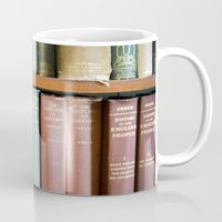 library Mugs featuring Library Wisdom by Jean Ladzinski