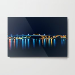 Blue night. Metal Print