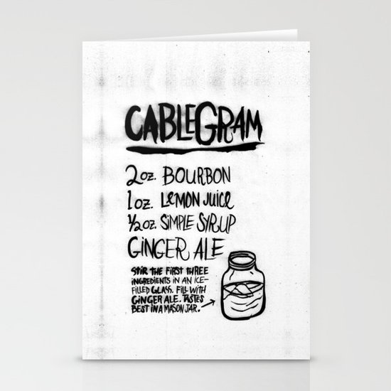 CABLEGRAM Stationery Cards