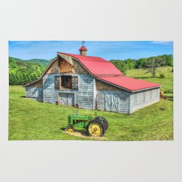Hayesville Barn And Tractor Rug