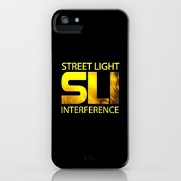 Street Light Interference iPhone Case