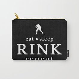 eat sleep RINK repeat Carry-All Pouch