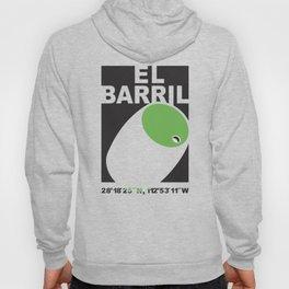 El Barril Green Hoody
