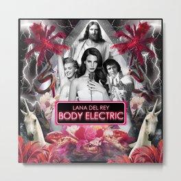 Body Electric II Metal Print