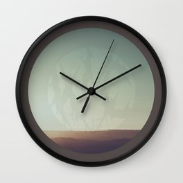 What A Terrible Place Wall Clock