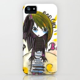 Bad Girl iPhone Case