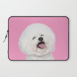 Laughing Puppy Laptop Sleeve