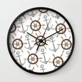 Nautical #1 Wall Clock