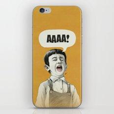 AAAA! (Golden) iPhone & iPod Skin