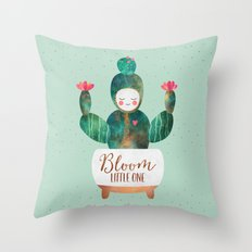 Bloom Little One Throw Pillow