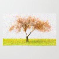 tree of life Area & Throw Rugs featuring Life Tree by Joao Bizarro