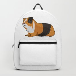 Guinea Pig Illustration Backpack