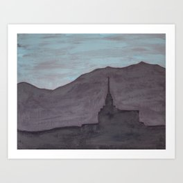 Mountain of the Lord Art Print