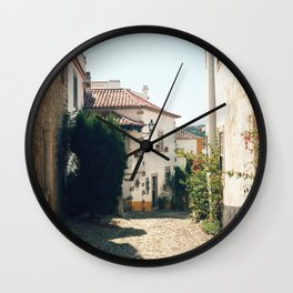 Obidos, Portugal (RR 179) Analog 6x6 odak Ektar 100 Wall Clock