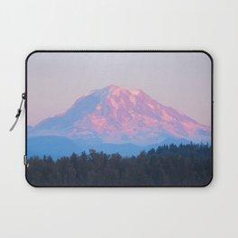 Mount Rainer Alpenglow Laptop Sleeve