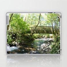 Bridal Veil Falls OR Forest Bridge Laptop & iPad Skin