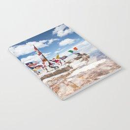 Salar de Uyuni International Flags Notebook
