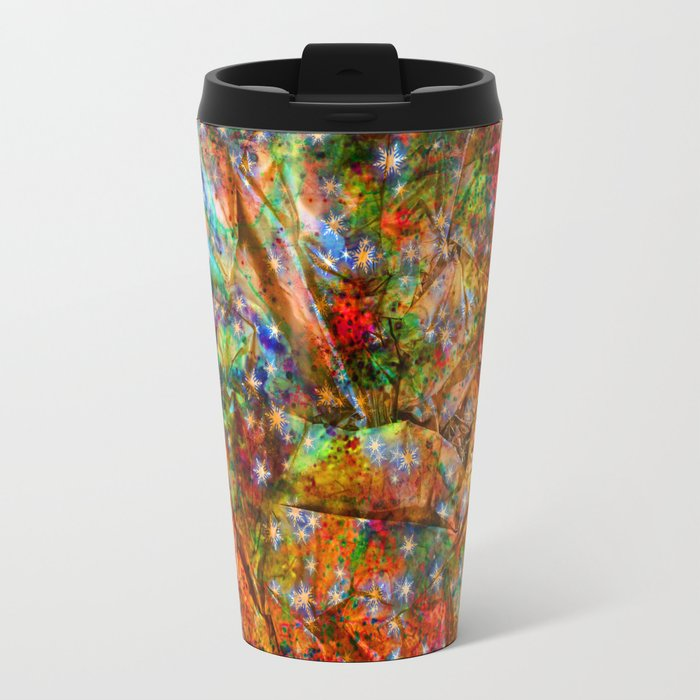 gift wrapping paper Travel Mug