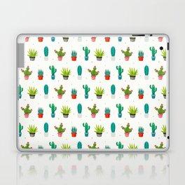 Colorful cactus succulent plant flower nature pattern Laptop & iPad Skin