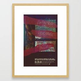 Parachute Journalists - Watch Her Decompose Framed Art Print