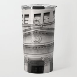Federal Reserve Bank of Chicago Black and White Travel Mug
