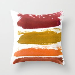 A World With Octobers Throw Pillow