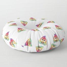Rainbow unicorn poop. Magical fairy pile of poop Floor Pillow