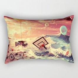 Don't trash your dreams Rectangular Pillow