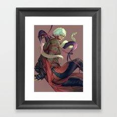 Ribboned Framed Art Print