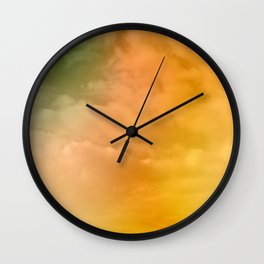 Brighten Up Your Day Wall Clock