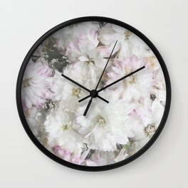 Mother's Day Mums Wall Clock