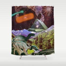 Enlightment Shower Curtain