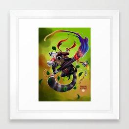 Master Framed Art Print
