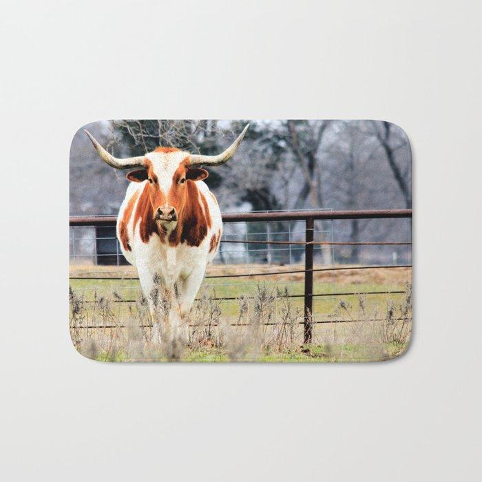 Texas Longhorn Morning Bath Mat