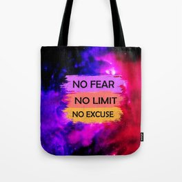 Space Quote Infinite Tote Bag