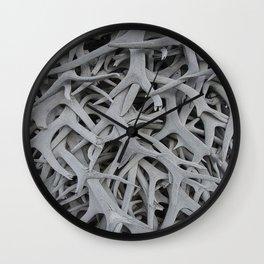 REMNANTS OF MATING SEASON Wall Clock