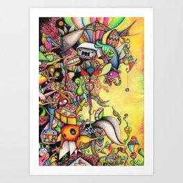 Sugar High Art Print