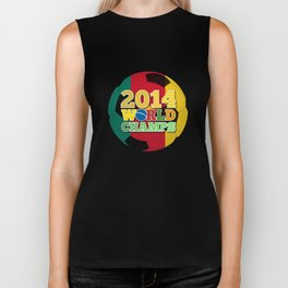 2014 World Champs Ball - Cameroon Biker Tank