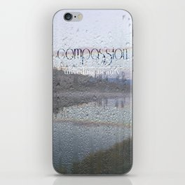 Unveiling Beauty - Compassion iPhone Skin