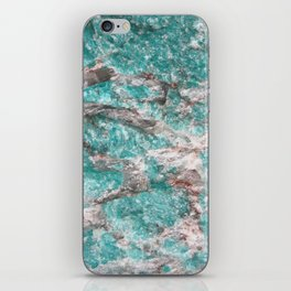 Amazonite Stone iPhone Skin