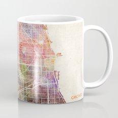 Chicago map Mug