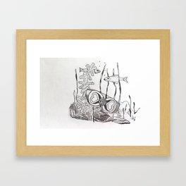 The Symbol of Eternal Love Framed Art Print