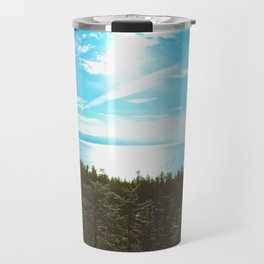 Endless Mapless Landscape Travel Mug