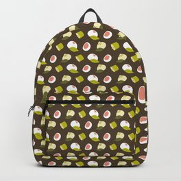 Dim sum pattern Backpack