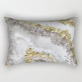 Geode Art Rectangular Pillow
